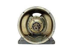Elektrisk motor för Dissasembled gammal DC Royaltyfri Fotografi