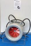 Elektrisk motor för sänkbar cirkelpropeller Fotografering för Bildbyråer