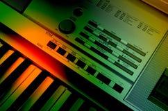 elektrisk musik Royaltyfria Foton