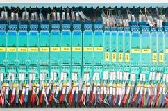 elektrisk panel fotografering för bildbyråer