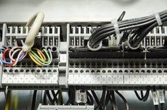 elektrisk panel royaltyfria bilder