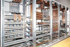 elektrisk panel för konstruktion royaltyfri bild