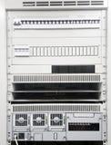Elektrisk panel för maktkontroll royaltyfria foton