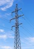 Elektrisk pelare Arkivfoto