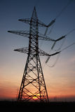 elektrisk pelare Royaltyfri Fotografi