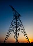 Elektrisk pelare för kickspänning ingen kabel Royaltyfria Bilder