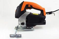 elektrisk pimpelsaw Fotografering för Bildbyråer