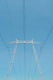 Elektrisk pol Arkivfoton