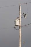 elektrisk pol Fotografering för Bildbyråer