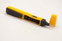 Elektrisk provblyertspenna, plast-, guling Royaltyfri Foto
