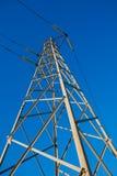 elektrisk pylon Arkivfoton