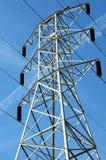 elektrisk pylon Arkivbild