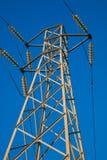 elektrisk pylon Royaltyfria Foton