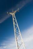 elektrisk pylon Fotografering för Bildbyråer