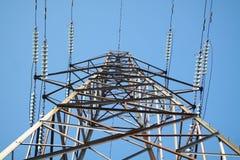 elektrisk pylon Royaltyfri Fotografi