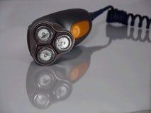 elektrisk rakapparat Fotografering för Bildbyråer