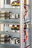 elektrisk säkring Arkivbilder