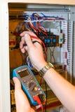 Elektrisk saker Fotografering för Bildbyråer