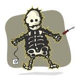 Elektrisk shock royaltyfri illustrationer