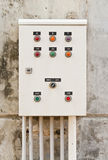 elektrisk skåpkontroll Arkivfoton