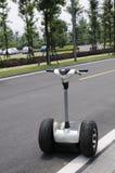 elektrisk sparkcykel Arkivfoton