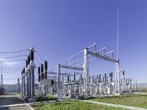 Elektrisk station Arkivbilder