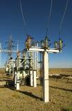 elektrisk station royaltyfri fotografi