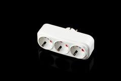 elektrisk stickkontakt Fotografering för Bildbyråer