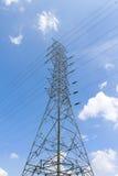 Elektrisk stolpe Royaltyfria Foton