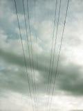 elektrisk stolpe Royaltyfri Bild