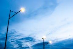 elektrisk stolpe Royaltyfri Fotografi