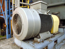 elektrisk stor motor Royaltyfria Foton