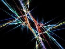 elektrisk storm Arkivfoto