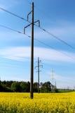 elektrisk strömförsörjning Royaltyfria Bilder