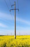elektrisk strömförsörjning Arkivfoto