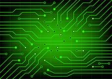 elektrisk strömkrets Vektorillustration för EPS 10 Arkivbild