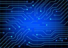 elektrisk strömkrets Vektorillustration för EPS 10 Royaltyfri Bild