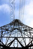 elektrisk strömstation Royaltyfria Bilder