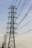 elektrisk strömstation Royaltyfri Bild