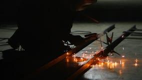 Elektrisk svetsning för metall lager videofilmer