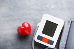 Elektrisk tonometer Fotografering för Bildbyråer