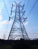 elektrisk tornöverföring Royaltyfria Bilder
