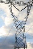 Elektrisk tornpylon royaltyfri foto