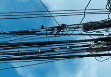 elektrisk tråd Royaltyfri Bild