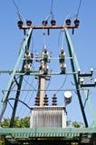 elektrisk transformator Royaltyfri Foto