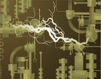 Elektrisk uppfinning Arkivfoto