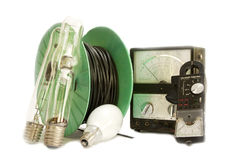 elektrisk utrustning Arkivfoto