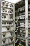 elektrisk utrustning för automationkontroll fotografering för bildbyråer