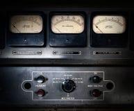 Elektrisk utrustning för Retro steampunk Arkivfoton