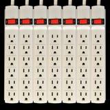 elektrisk uttagbeskyddandesvallvåg Arkivfoton